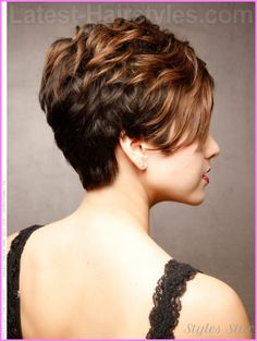 Short haircuts black women front and back - http://stylesstar.com/short-haircuts-black-women-front-back.html