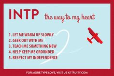 INTP Valentine