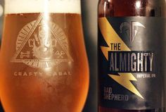 Beer 218 - The Almighty Double IPA from Bad Shepherd. Australia