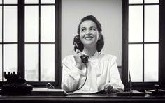 15 forgotten niceties we need to bring back  Smiling receptionist at work - cyano66/iStockphoto/Getty Images