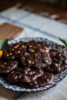 Flourless Chocolate Citrus Cookies / by Adventures in Cooking