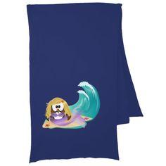 mermaid owl scarf