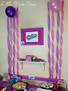 Amazing ideas for a Shopkins Birthday Party on a Budget #Shopkins #shopkinsbirthdayparty #shopkinsparty #parties