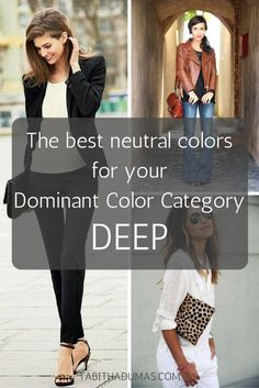 The best neutral colors for your Dominant Color Category - Tabitha Dumas