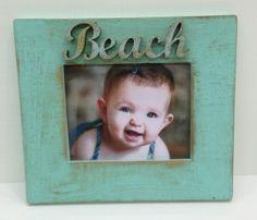 Sweet Beach Baby Frame