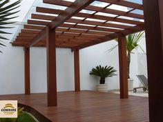 Pergolado de Madeira - Portfólio - Cobrire Construções em Madeira