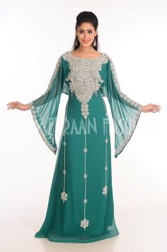 Elegant Moroccan Fancy Jilbab Arabian Dubai Takshita Wedding Gown Dress 177