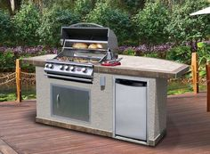 15 Simple Outdoor Kitchen Kits Photograph - Designing your final kitchen ought to be a rewarding expertise. Prefab Outdoor Kitchen, Outdoor Kitchen Kits, Simple Outdoor Kitchen, Modular Outdoor Kitchens, Kitchen Island Kits, Kitchen Island Frame, Kitchen Wallpaper Washable, Cal Flame, Outdoor Fireplace Kits