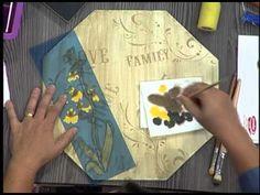 Santa Receita | Aprenda a utilizar a técnica de pintura alemã com Cristiane Bicudo - 13 de abril - YouTube