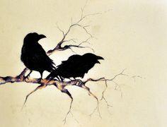 Ravens by ~mariasart1 on deviantART
