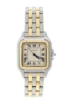 Vintage Cartier Unisex Panthere Two-Tone Midsize Quartz Watch