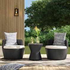 Mercury Row® Lindenberg Sun Lounger Set & Reviews | Wayfair Outdoor Furniture Sets, Outdoor Decor, Clearance Patio Furniture, Clearance Outdoor Furniture, Patio Furniture, Patio Seating, White Cushions, Outdoor Living Space, Patio Sectional