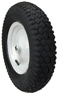 Maxpower 335232 Knobby Wheelbarrow Wheel With 3 Hub 480 x 400 x 8 * Be sure to check out this awesome product.