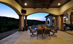 custom home in rough hollow, lakeway | Design Visions