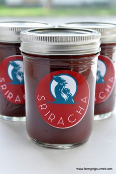 Homemade Sriracha - Make with dried chiles.