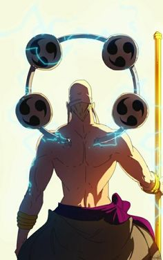 Enel (Eneru) One piece One Piece Anime, One Piece Tattoos, Anime Group, Marvel, Anime Comics, Anime Manga, Anime Characters, Geek Stuff, One Piece