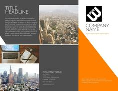 Free brochure templates examples 20 free templates Lucidpress #SampleResume #TriFoldExamples