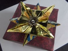 Four Point Star Origami Decoration