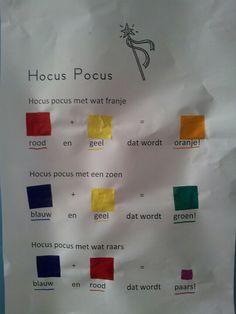 Toveren met kleur