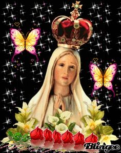 mi virgencita de Fatima