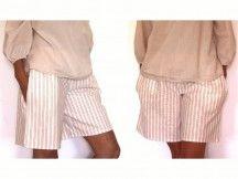 Patron de couture - Short avec des poches dans la couture