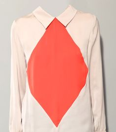 Like Ellsworth Kelly designed a blouse.