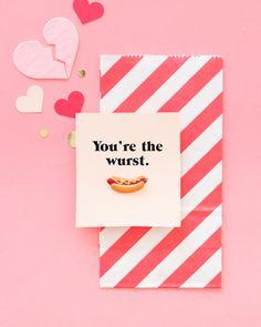 Punny Anti-Valentines | Oh Happy Day!    #diy #valentines
