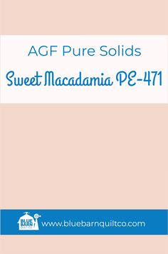 $18 CAD per yard Sweet Macadamia PE-471. Premium PIMA Cotton 44″ wide, The purest hues meet Art Gallery Fabrics' soft hand and superior quality. All the solids you have been looking for to match your collections are here! Sold by the 1/4 yard or in Fat Quarters, ships to Canada and USA.  #agfsolids#agfpuresolids #longarmquilting   #ilovequilting#quiltersdream #yegquilter#colorful #forsale #fabriclove #canadianquiltshop #sewcanadian #onlinequiltshop #onlinequiltstore #onlinefabricshop Met Art Galleries, Art Gallery Fabrics, Longarm Quilting, Fabric Shop, Superior Quality, Fat Quarters, Quilt Patterns, Canada, Collections