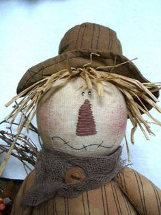 Fall Crafts, Halloween Crafts, Sewing Projects, Craft Projects, Craft Ideas, Fall Sewing, Wooden Pumpkins, Primitive Crafts, Grapevine Wreath