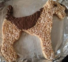 Airedale Rice Krispies Treat~