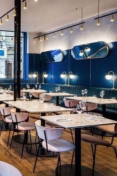 Biasol | Clerkenwell Grind, London UK #restaurantdesign