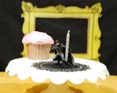 Batman Birthday Candle Holder by TonysDinostore on Etsy