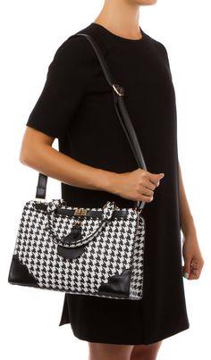 Prince Houndstooth Handbag - love the complete look