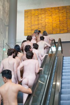 This Is What Happens When You Bring Nudists To An Art Museum (NSFW)