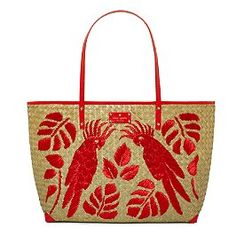 Kate Spade does summer straw bags...love this one...