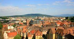 Tout le charme d'une petite ville de province  //  A charming little town in the East of France - Belfort