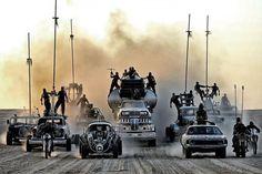 #MadMax: Fury Road al cinema nel 2015 con Charlize Theron e Tom Hardy.
