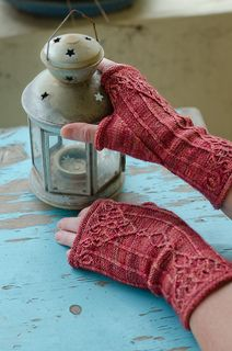 Wrought Mitts | cable knit pattern for fingerless mitts by Stephannie Tallent, published in her book California Revival Knits (also available as a single pattern purchase)
