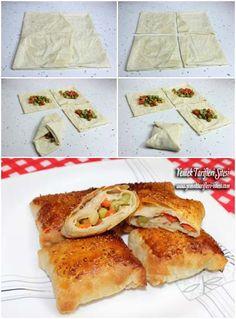 Hazır Yufkadan Talaş Böreği Tarifi