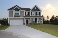 Two-story Palmer model at Clear Pond.  Myrtle Beach homes for sale.  #clearpond