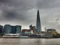 Shard Tower (Shard Tower) - Londres, Reino Unido (London, UK) - iPhone 4S & HDR Pro Copyright © Juan Hernandez Orea