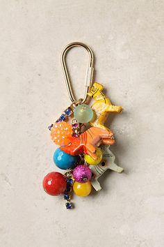 Merrymaking Keychain - anthropologie.com