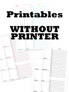 A #fillable #printable is a #printable that you can #fill in on your #computer or #phone. So you do not need a #printer for these #printables. Which makes them #easier to use. You can #buy them on your #computer without #paying for #shipping and then use them on your #computer without ever #having to stand up. You might have had the same problem as me. You wanted to use #simple #printables or #planner. Printable Stickers, Printable Wall Art, Daily Planner Printable, Single Sheets, Printer Paper, Craft Tutorials, Organization Hacks, Getting Organized, How To Look Pretty