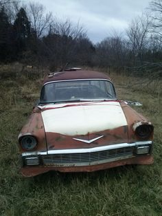 '56 Chevy Wagon. Possibly for sale. Located near Kibler Arkansas. Tripper's Travels.