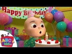 Happy Birthday Song | Nursery Rhymes & Kids Songs - ABCkidTV - YouTube
