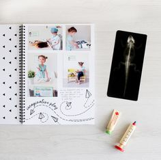 Imaginative Play recorded in our Monochrome Toddler Book! The Monochrome Toddler Book by Blueberry Co