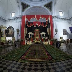 Velación Virgen de Soledad Escuela de Cristo Antigua Guatemala