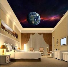 Galaxy Wall Mural Ceiling Stars Nebula Ceiling Ceiling Part 68