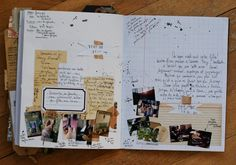 love this idea 4 my smash book Smash Book, Altered Books, Altered Art, Art Journal Pages, Art Journals, Travel Journals, Journal Layout, Journal Ideas, Art Doodle