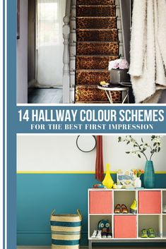 Looking for hallway colour schemes? From the best grey paint to blue and green hallway decorating ideas, here's our pick of the best hallway colour ideas Hallway Colour Schemes, Hallway Colours, Color Schemes, Best Gray Paint, Grey Paint, Paint Themes, Paint Colors, Bright Hallway, Hallway Inspiration